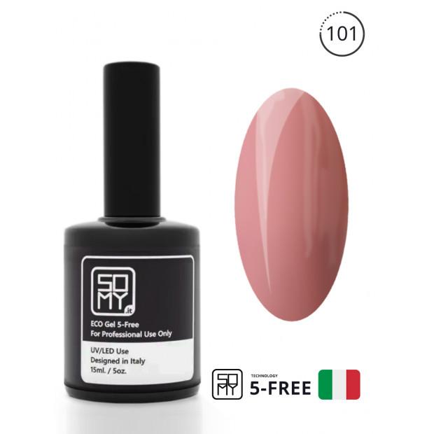 Гель-лак в розовом цвете: 101